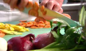 Первичная обработка овощей и грибов