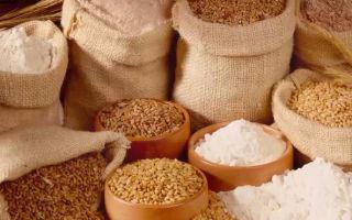 Продукты переработки зерна
