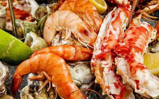 Характеристика нерыбных продуктов моря